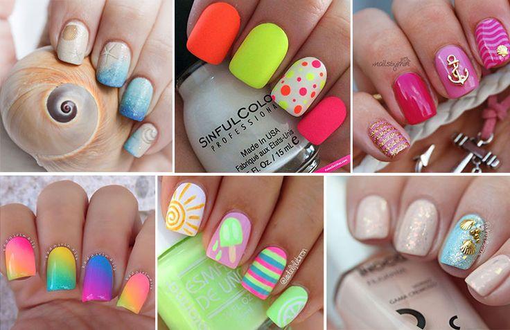 Μανικιούρ για παραλία: 40 ιδέες για υπέροχα νύχια