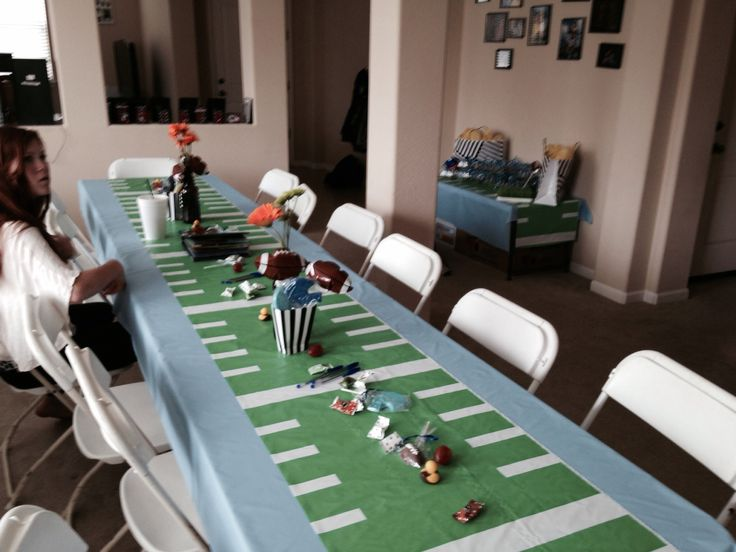 football baby shower boy shower football centerpieces football themes