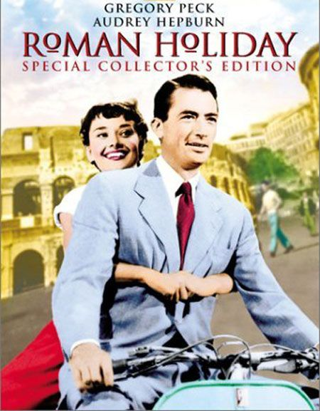 Roman Holiday (1953) - A bored and sheltered princess escapes her guardians and falls in love with an American newsman in Rome.