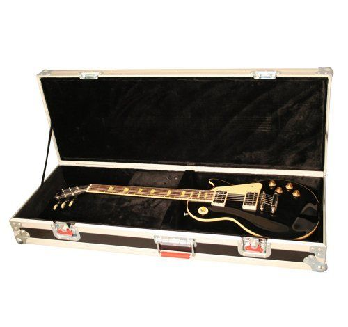 ATA Wood Flight Case for Les Paul-Style Guitars by Gator. $269.99. The best insurance for your musical equipment are well-crafted, high quality Gator cases. The assortment includes acoustic guitar cases; bass cases; electric guitar cases; backpack cases for slinging your axe over your shoulder; designs for specific guitar models such as the Les Paul or Stratocaster, as well as a variety of Gator cases that hold multiple instruments, effects pedals, pedal boards, and ...