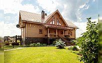 Проект деревянного дома из клееного бруса Лира, площадь 387 м2, 2 этажа, 4 спальни, фото 5