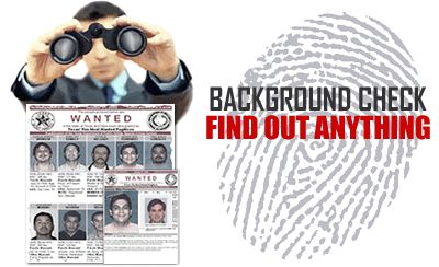 BACKGROUND CHECKS: We have access to databases not available to the general public. Our databases search billions of records. We can search nationwide for criminal records, hidden assets, addresses, phone numbers, places of employment, motor vehicle records, liens, judgements, bankruptcies, etc.