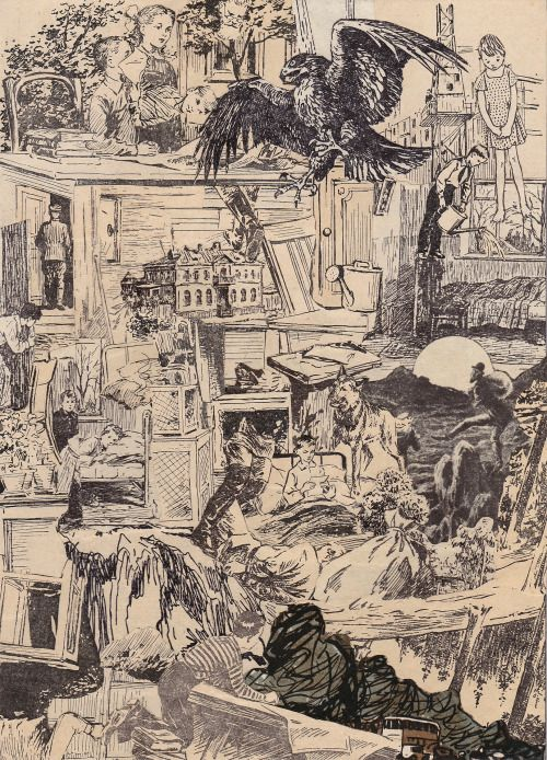 K. Gatavan. My brother Ganymede in Hell. Collage 2016. #Conceptual Art #концептуальное искусство #Arte concettuale #Art conceptuel #Arte conceptual #Konzeptkunst 😘✏️ - https://wp.me/p7Gh1Z-1NM #kunst #art #arte #sztuka #ਕਲਾ #konst #τέχνη #アート