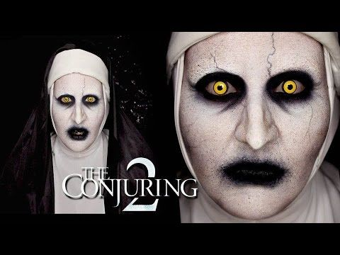 VALAK from The Conjuring 2 Makeup Tutorial by goldiestarling - YouTube