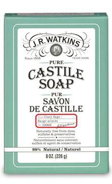 Clary Sage Castile Bar Soap