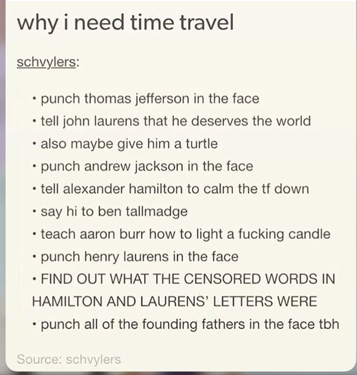 Also stop Burr from shooting Hamilton