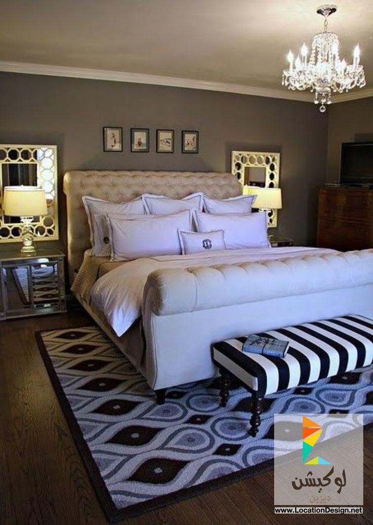 ديكورات غرف نوم مودرن جميلة 2015: