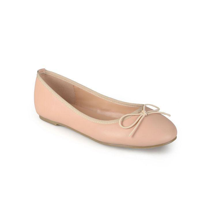 Journee Collection Vika Women's Ballet Flats, Teens, Size: medium (7.5), Light Pink
