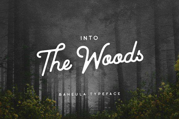 Baheula Vintage + Clean Typeface by pratamaydh on @creativemarket