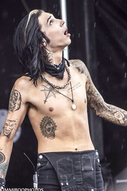Performing at Warped Tour 2015.... One of the Fallen Angels was Andy. Im pretty sure.