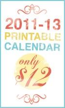 printable calendar $12: Calendar 12, Printable Planner, Calendario 2011 2013, Printable Calendars