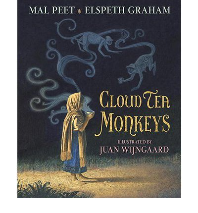 Inspired by a centuries-old legend of tea-picking monkeys, Carnegie Medalist Peet and his wife, Graham, pen a richly told tale full of vivid characters: the heartless Overseer, the enigmatic Royal Tea Taster, and, far away, an Empress with a penchant for tea. Full color.