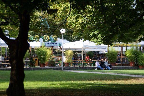 Schlossgarten Biergarten :: Stuttgart, Germany