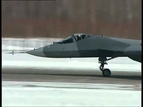 THE RUSSIAN Super Stealth Aircraft SU-50 test - The 5th Generation