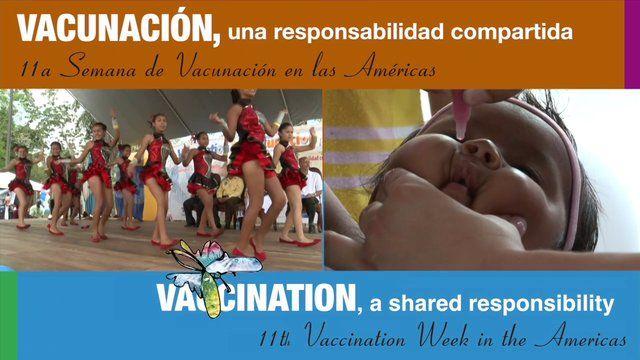 La celebración de la undécima Semana de Vacunación en las Américas (SVA) se llevó a cabo del 20 al 27 abril del 2013. La SVA es un extraordinario esfuerzo dirigido por los países y territorios de la Región para fomentar la equidad y el acceso a la vacunación. Video de OPS-OMS...