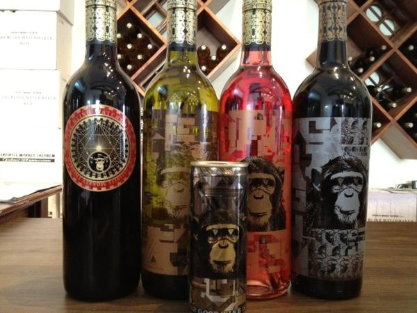 The Blind Watchmaker, Sauvignon Blanc, Rose', Malbec and Black Muscat in can