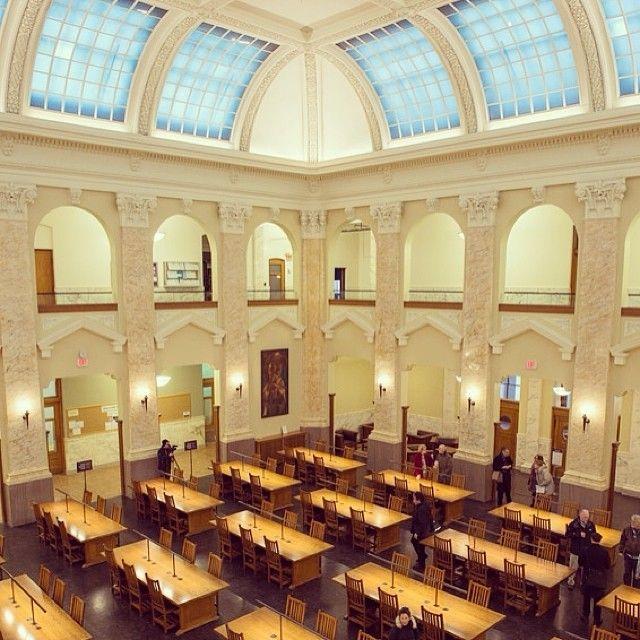 Carnegie Library Reading Room At Syracuse University