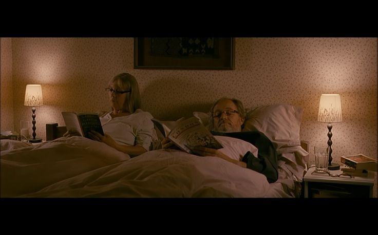 Tom (Jim Broadbent) and Gerri (Ruth Sheen) in 'Another Year' (2010, M. Leigh)