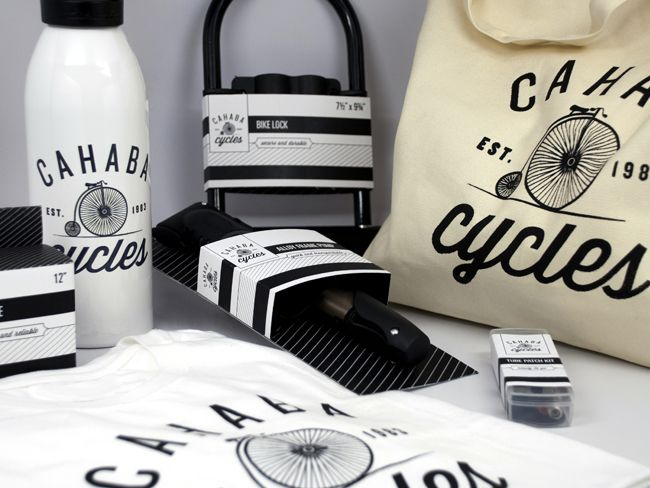 Cahaba Cycles (Student Work): Logo, Packaging, Cahaba Cycles, Design Archive, Branding, Student Work, Cycles Identity, Creative Package Design, Cycles Student