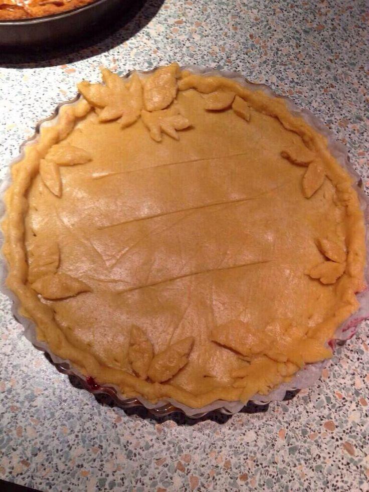 Cherry pie (not baked yet)
