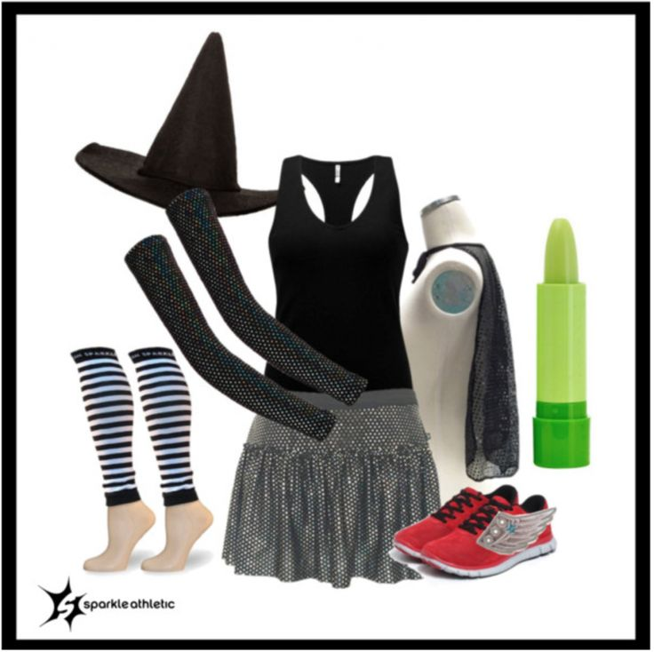 Wicked Witch-Inspired Running Costume | Running | Race Costume | Sparkle Athletic | #TeamSparkle | Halloween | Athletic Costume