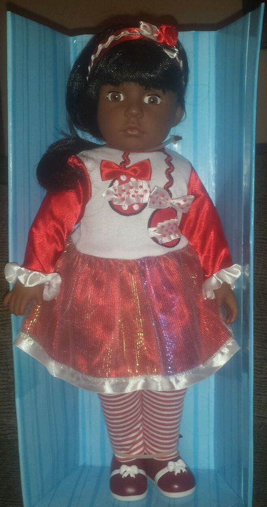 New Kingstate Doll 18 Quot African American Brown Skin