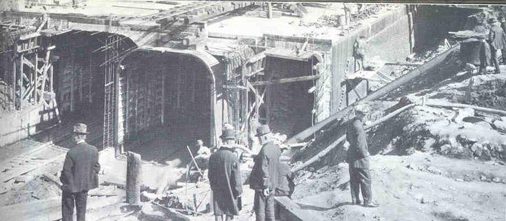 Old Photos of Cincinnati Ohio | Despite several delays, the two-mile underground portion of the subway ...