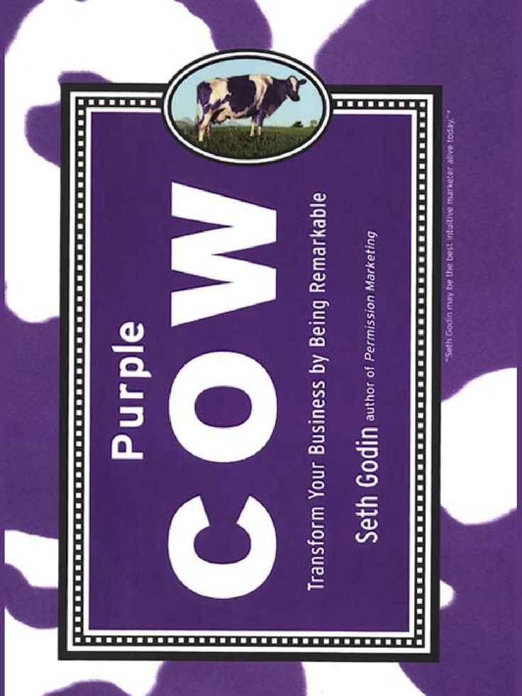 14 best books images on pinterest books to read libros and book seth godin purple cow transform your business by being remarkable fandeluxe Gallery