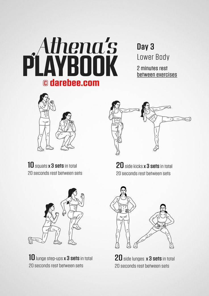 Athena's Playbook - 30 Day Program by DAREBEE