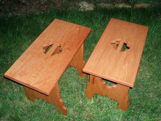 http://www.spanishpeacock.com/catalog/camp_benches.htm#