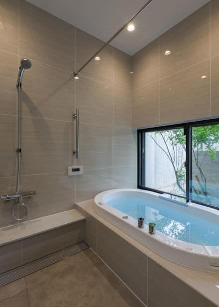 バスルーム: Architet6建築事務所が手掛けた浴室です。