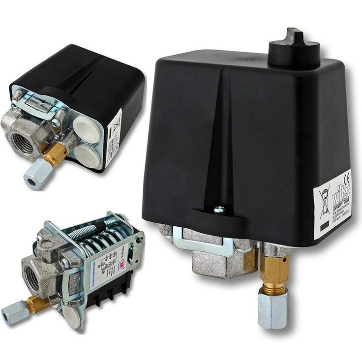 check price 3 phase 90 120 psi air compressors pressure switch control 230v 400v 16a pressure switch #pressure #switch