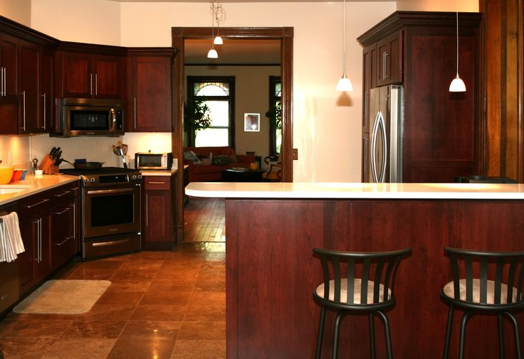 Wood Kitchen Cabinets Best Way To Clean Cherry