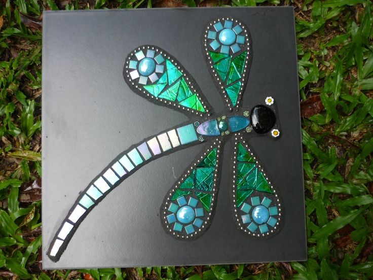 1000 Images About Dragonfly Mosaic On Pinterest Mosaic