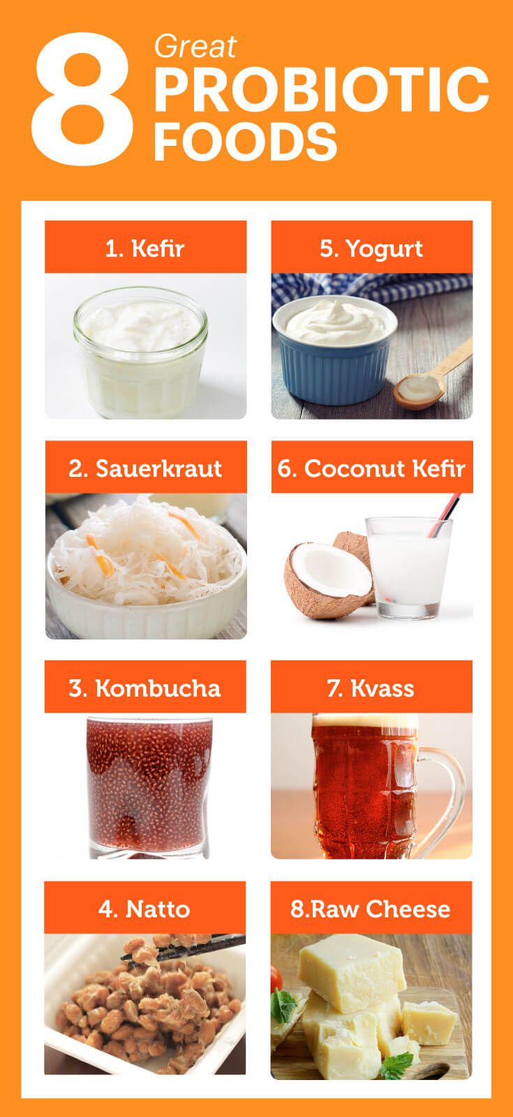 8 Greatest Probiotic Foods You Should Be Eating - Dr. Axe