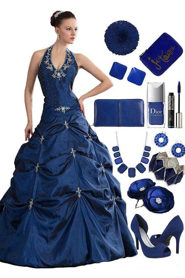 Halter Pick-up Dress -- #Cherishdress# Please click to http://www.cherishdress.com/