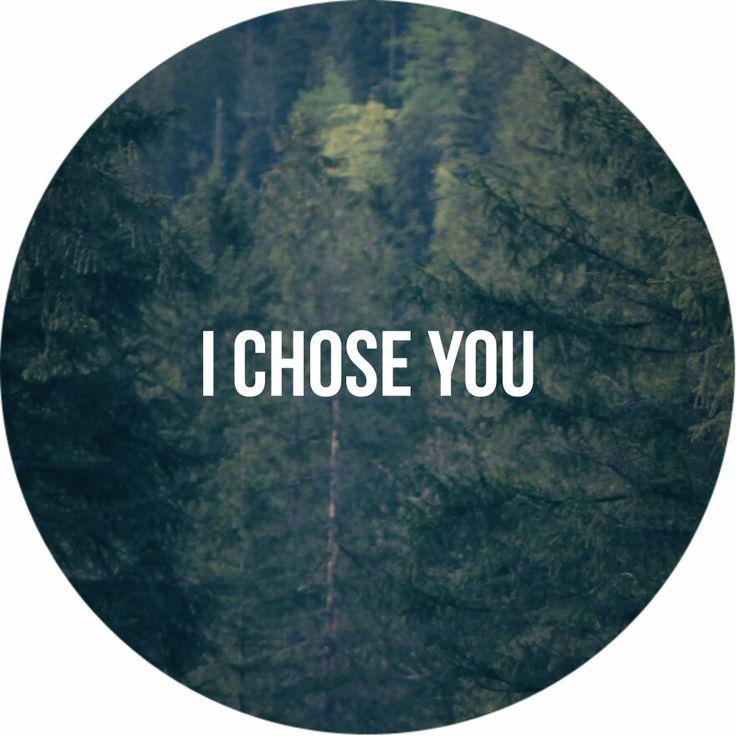 john 15:16 i chose you