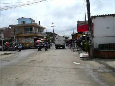 Las calles de Turbo, Colombia
