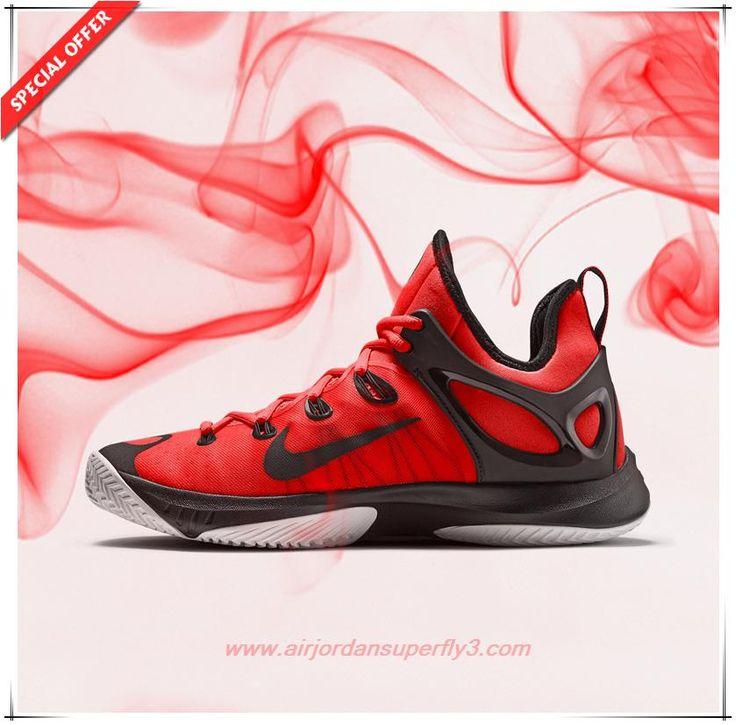Bright Crimson/White/Black Nike Zoom Hyperrev 2015 Mens For Cheap