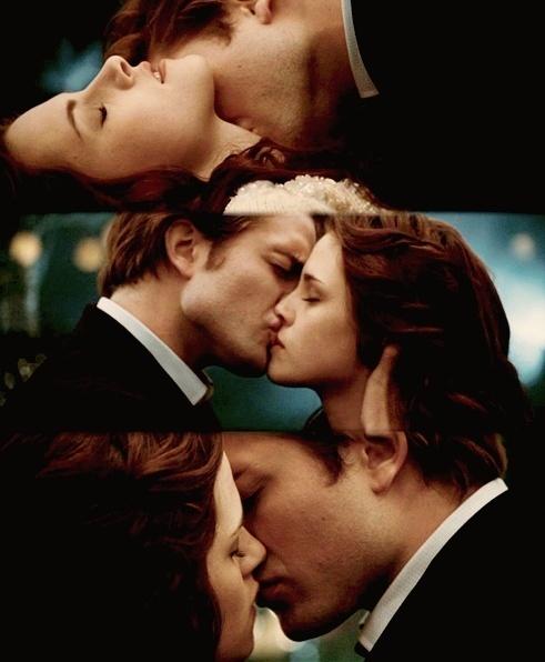 Best movie kiss! Twilight!