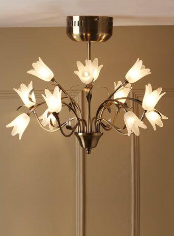 Elsie 12 Light Flush Ceiling Fitting Latest Offers Home Lighting F