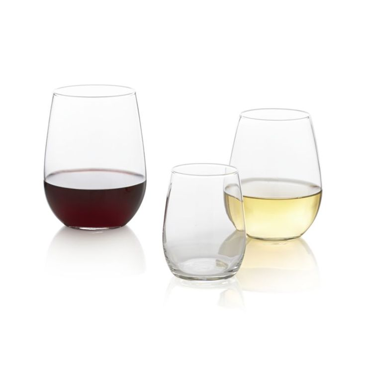 I have these Stemless Wine Glasses and love them for everyday use