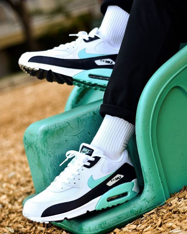 reputable site ba6c4 d7e53 Nike Air Max 90   White Aurora  amp  Obsidian Who would have thought that  the