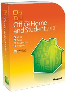 Amazon.com: Microsoft Office Home & Student 2010 - 3PC/1User (Disc Version): Software Price: $168.99