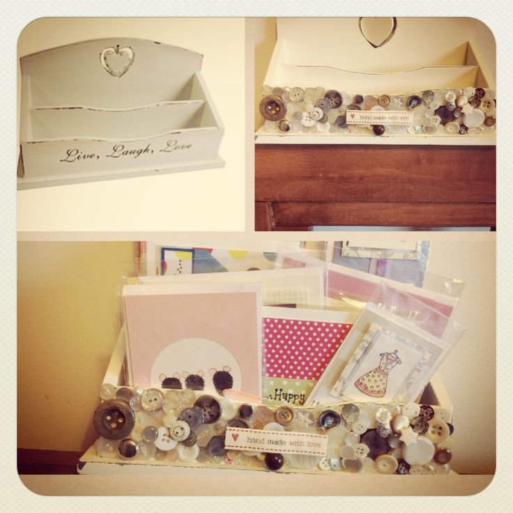 Up cycled craft storage