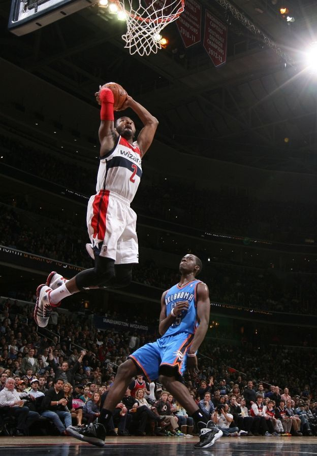 John Wall Dunks on OKC! Washington Wizards Basketball - Wizards Photos - ESPN