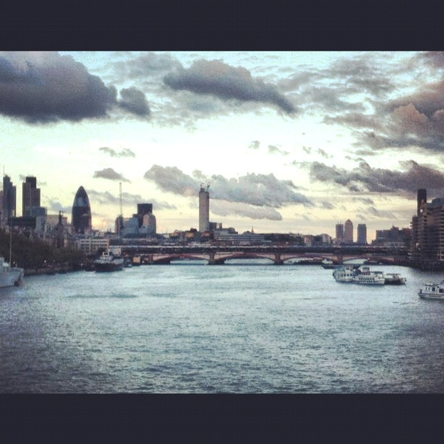 London in may