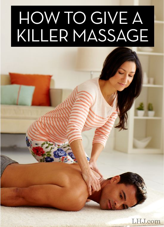 Learn How to Give an Amazing Full-Body Massage (then teach your partner!)