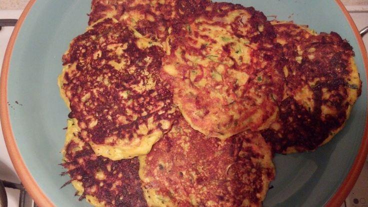 "Shredded Fried Zucchini Recipe | Mary's Kitchen: Zucchini Carrot ""Cakes"""