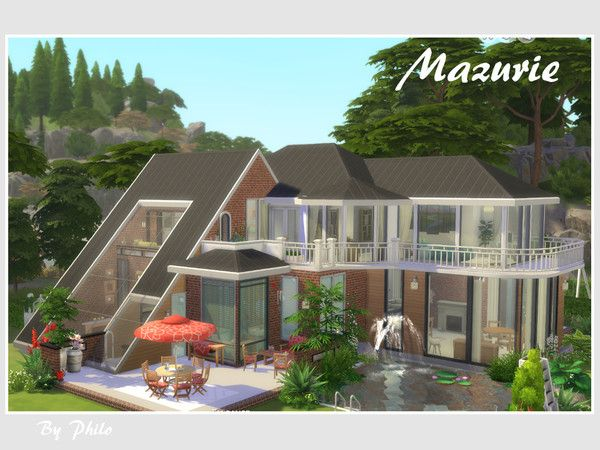 Sims 4 Cc Custom Content Residential Home Lot The Sims